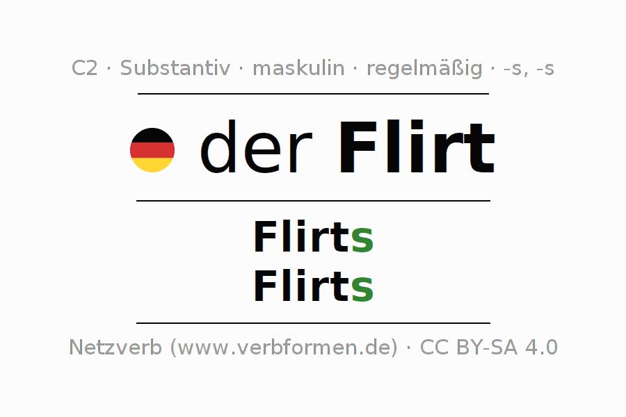 flirten deutsch bedeutung