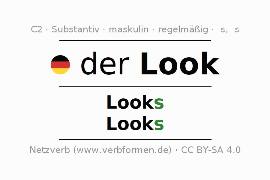 Deklination Maskulin Look