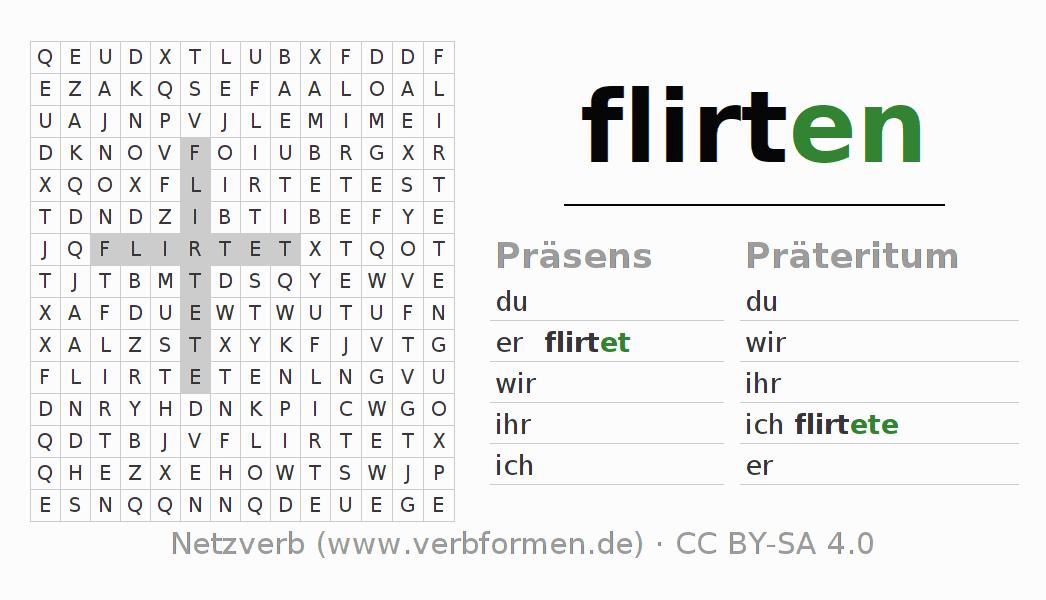 Flirten konjugation