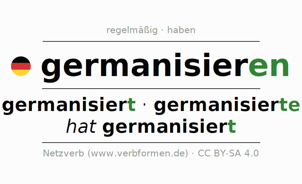 partizip ii german verbs list pdf